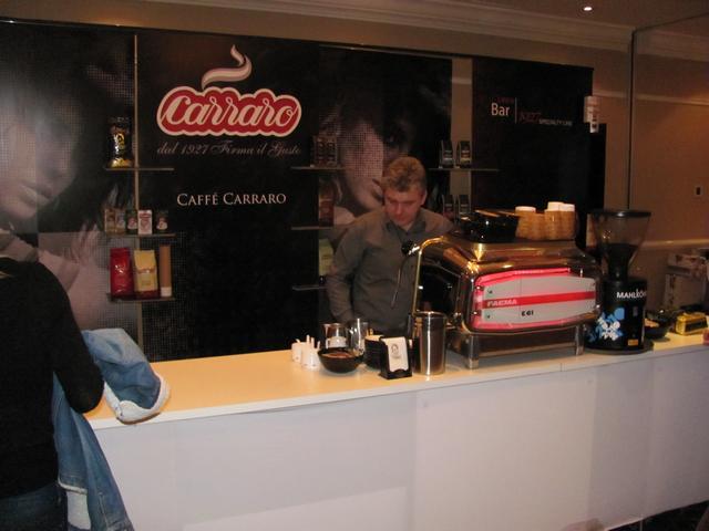 kreatív kávéfórum kiállítás carraro
