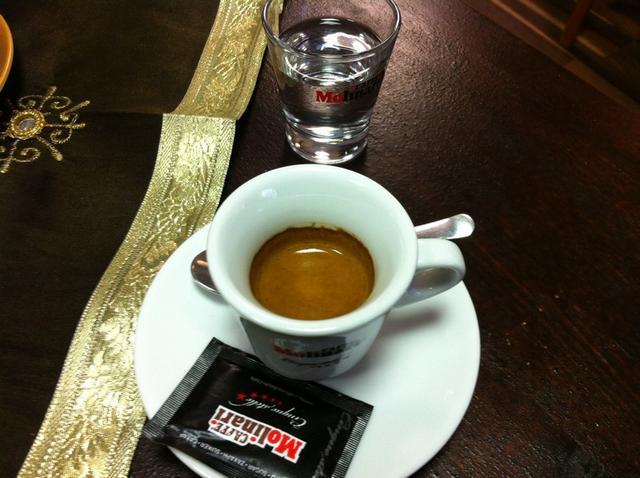 molinari kávézó teszt eszpresszó