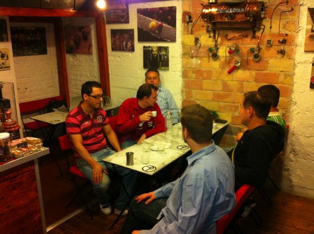 tamp & pull kávékorzó workshop tesztcsapat