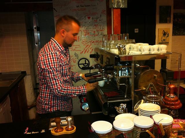 tamp & pull kávékorzó workshop molnár attila