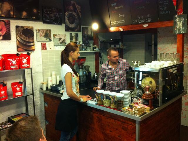 tamp & pull kávékorzó workshop kávégép