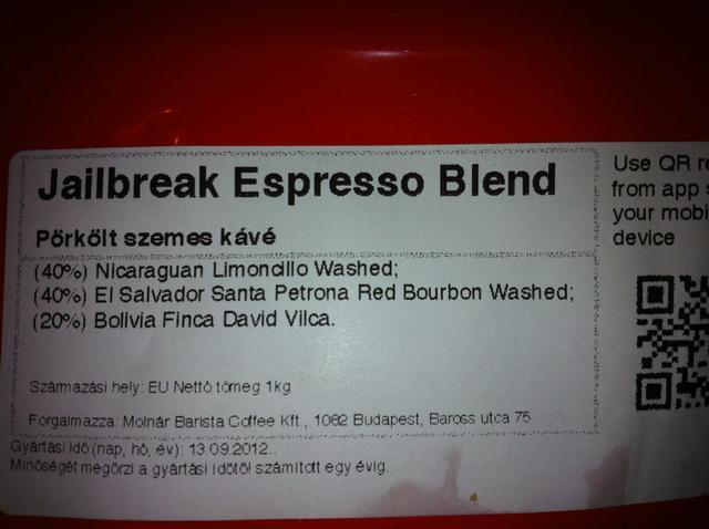 tamp & pull kávékorzó workshop jailbreak címke