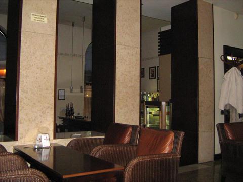 café de columbia kávézó belső tér