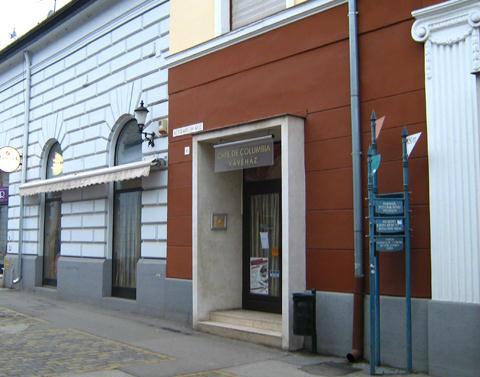 Café de Columbia kávézó portál
