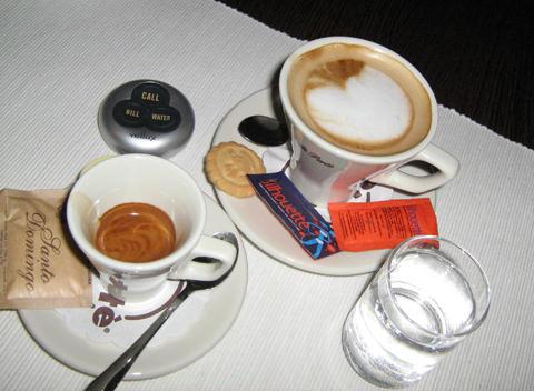 angelo kávézó eszpresszó és macchiato