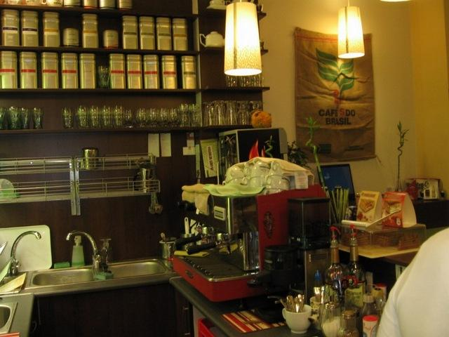 bambusz café kávégép