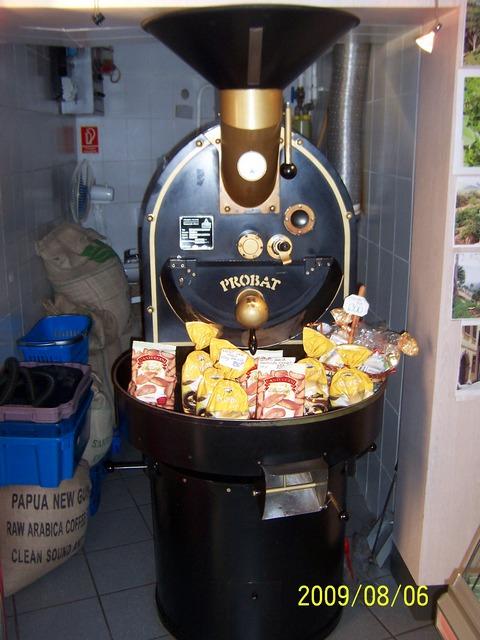 kapuczíner kávémanufaktúra győr probat kávépörkölő