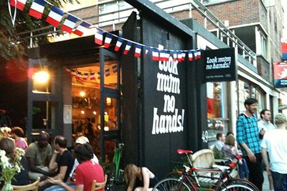 kerékpáros kávéház london