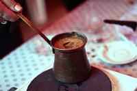 török kávé készítés