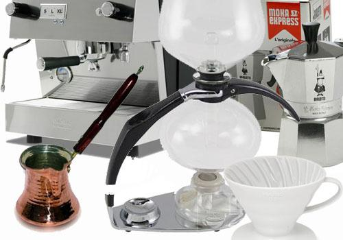 kávékészítési technológiák és eljárások