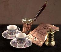 török kávé készítő szett