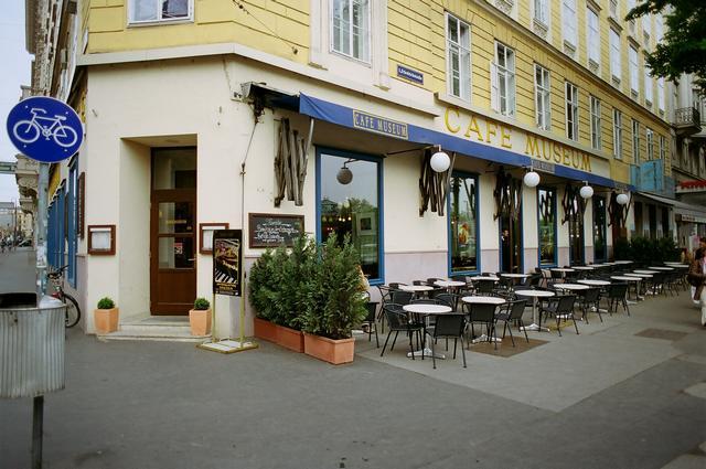 café museum bécs