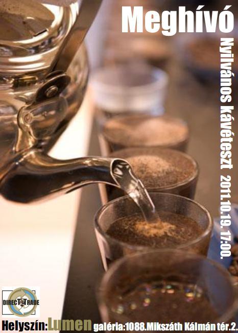 kávé napja 2011