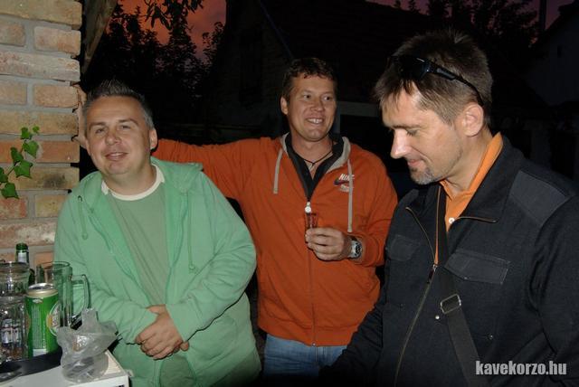 Balázs, Paljoc és Sanyi