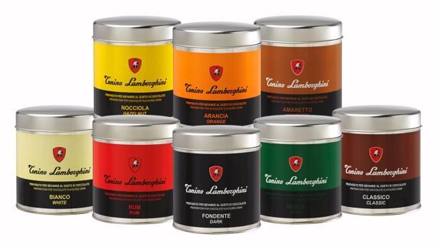 tonino lamborghini forró csokoládé választék