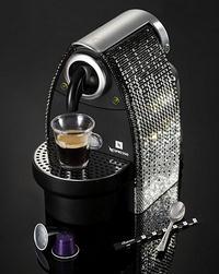 nespresso kávéfőző swarocsky kristályokkal