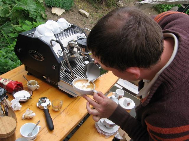 kávékorzó buli paljocnál marzocco