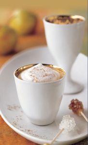 almás-gyömbéres kávé