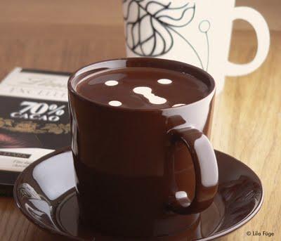 forró csokoládé