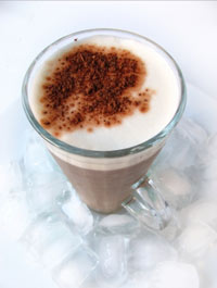 kávés shake