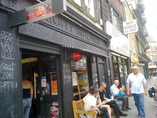 kávézó londonban