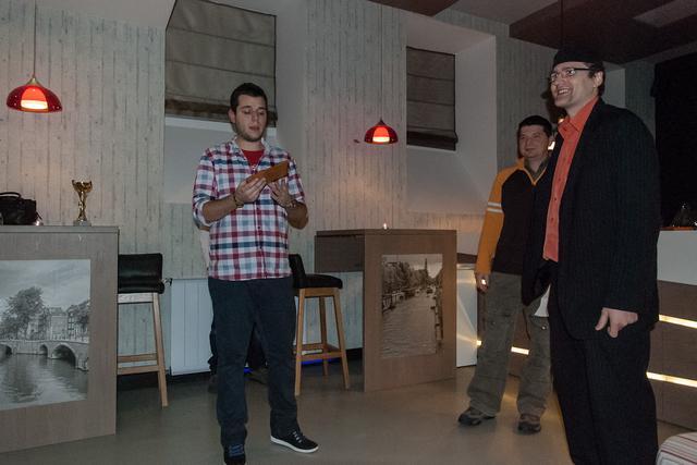 kávékorzó díjátadó 2012 a Tamp & Pull csapata