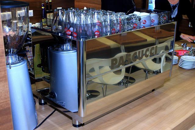pascucci kávézó kávégép