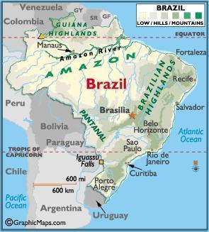 brazília kávétermelés