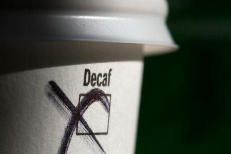 koffeinmentes kávé papírpohár