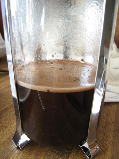 french press kávé