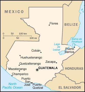 guatemala kávétermesztés