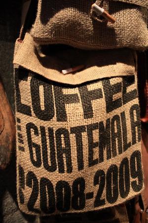 guatemala kávés zsák