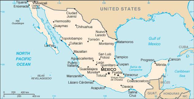 mexico kávétermesztés