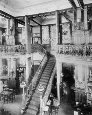 kávéház belső tér