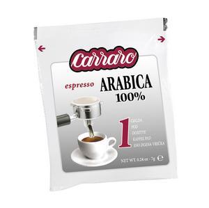 carraro 100% arabica pod teszt csomagolás