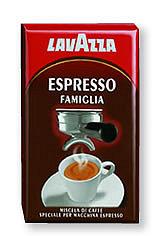 lavazza famiglia kávé