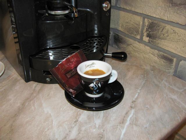 lucaffe messico kávé pod kávépárna csésze