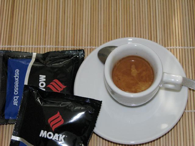 moak espresso bar podos kávé teszt eszpresszó