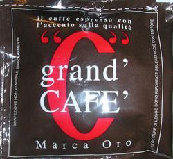 grand cafe marca oro podos kávéteszt