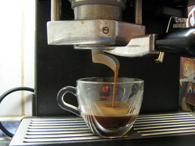 molinari oro pod kávé csapolás