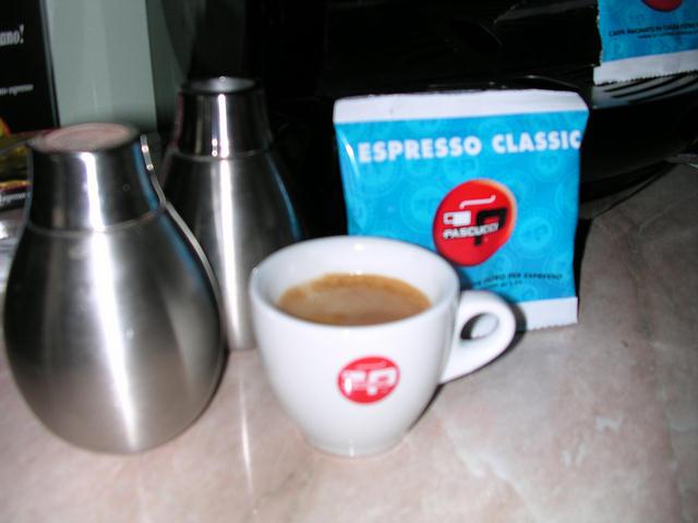 pascucci classic pod espresso