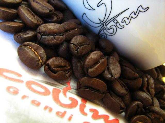 covim rubino szemeskávé kávébabok