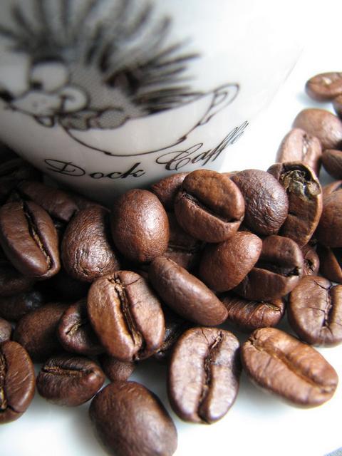 dock peller extra kávébabok
