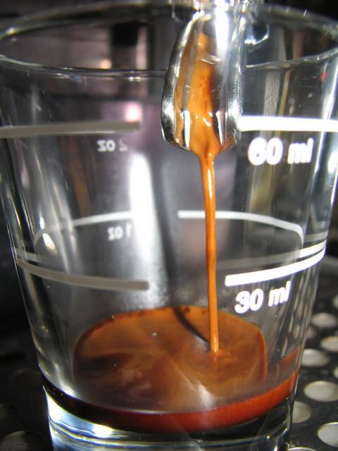 dock peller extra kávé shot