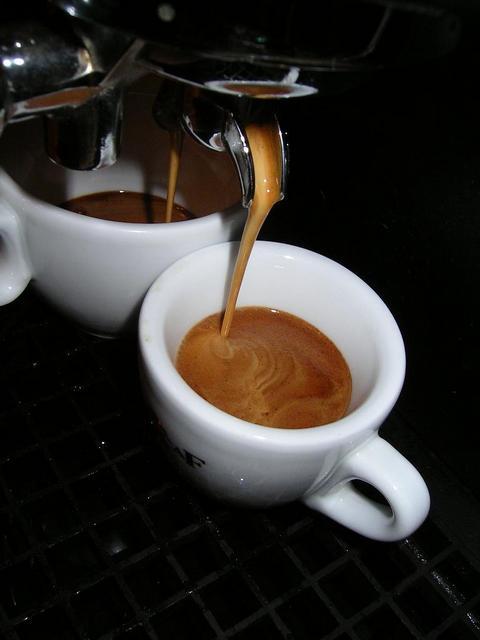 eurocaf espresso italiano szemes kávé csapolás