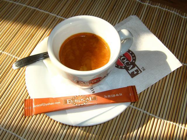 eurocaf espresso italiano szemes kávé krém