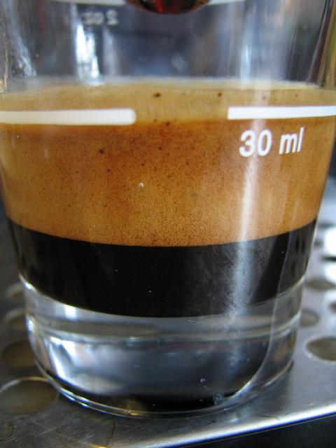 eurocaf espresso italiano szemes kávé shot