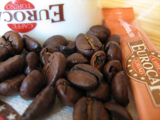 eurocaf s. bar szemeskávé teszt kávébabok
