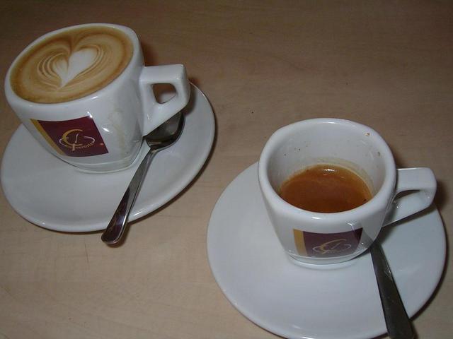 goldschmidt bio espresso kávéteszt kapucsínó