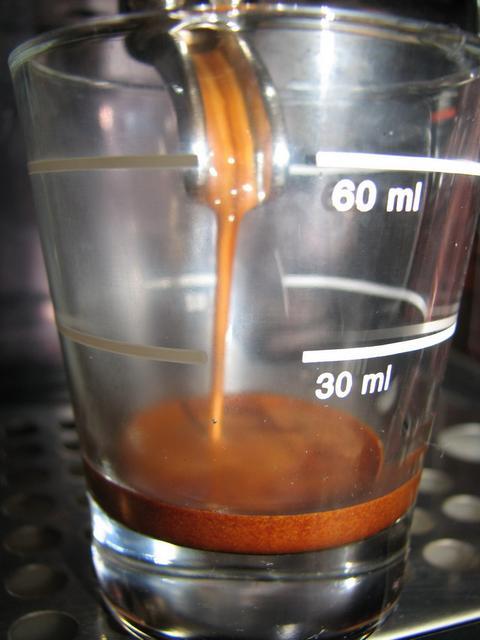 lamigi arany szemes kávé teszt shotos csapolás